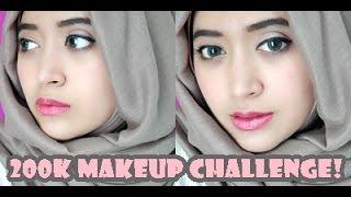 getlinkyoutube.com-200K MakeUp Challenge | Natasha Farani