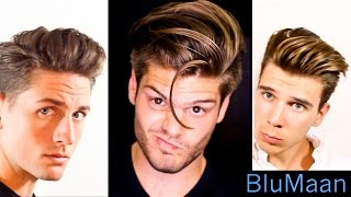 getlinkyoutube.com-Mens Hair: 3 Different Hairstyles | 3 Different Hair Types