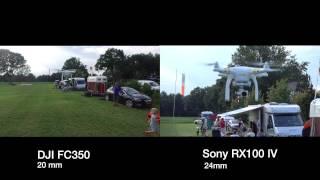 getlinkyoutube.com-Aerial video comparison, DJI FC350 vs Sony RX100 IV