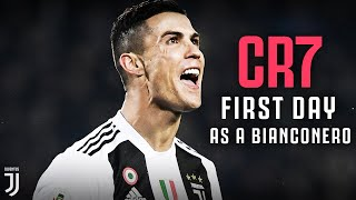 The sights and sounds of Cristiano Ronaldo day at Juventus width=