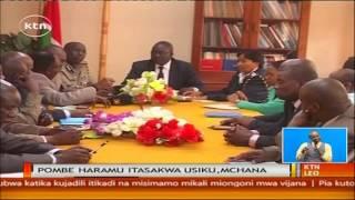 Mwanaume wa Nyeri amkia pombe asubuhi na mapema