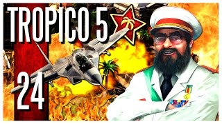 getlinkyoutube.com-Tropico 5 - Ep.24 : THE WORLD IS ON FIRE! (FINALE)