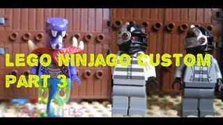 getlinkyoutube.com-Lego ninjago custom #3 +custom kai and zane and sword 2016