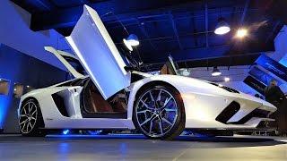 2017 Lamborghini Aventador S Unveiling 740HP REDEVELOPED BEAST at Lamborghini Miami