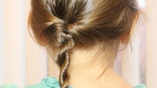 getlinkyoutube.com-フィッシュテール&ツイストヘア ミックス Fishtail & Twist Rope Hair Mix