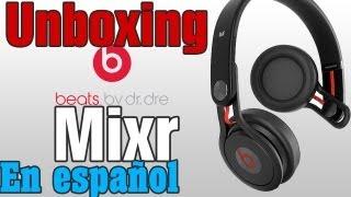 getlinkyoutube.com-DESEMPAQUETADO (unboxing) BEATS BY DR. DRE MIXR EN ESPAÑOL