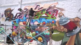 EXPO GRAFFITI /SKATE/ BMX/ RAP 2014 (desnivel)