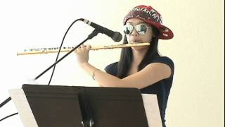 getlinkyoutube.com-15 year old Annie Wu rocks the Three Beats For Beatbox Flute
