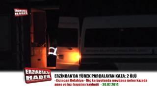 Erzincan'da Yürek Parçalayan Kaza: 2 Ölü, 4 Yaralı