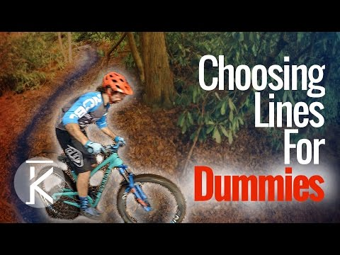 Learn How to Choose Lines on mountain bike Trails
