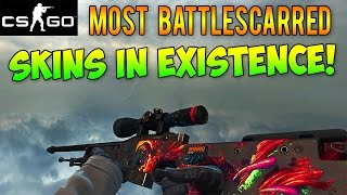 getlinkyoutube.com-CS GO - The Most Battle-Scarred Skins in Existence! High Float Rare CSGO Skins