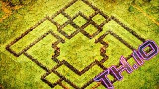 getlinkyoutube.com-WORLD'S BEST TH10 TROPHY/ WAR BASE W/275 WALLS | THE AEGIS | CLASH OF CLANS