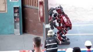 getlinkyoutube.com-DARPA Robotics Challenge Finals - CHIMP Stumbles and Recovers