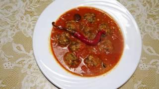 getlinkyoutube.com-طبق اليوم مرقة كعابر سبناخ - ragoût de boulettes d'épinards - plat Aujourd'hui d'épinards