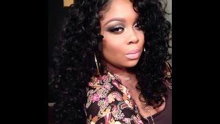 Big Curly Hair! Sensationnel Empress Lace Alexis Wig