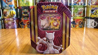 getlinkyoutube.com-Pokemon Mewtwo EX Tin Opening