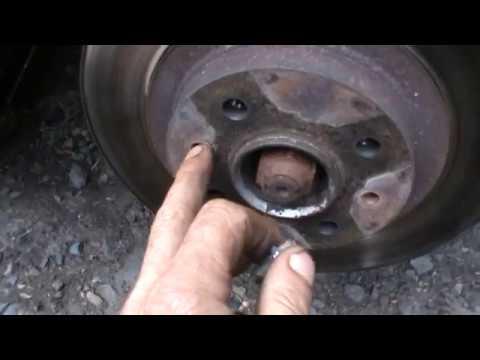 Простой способ снять прикипевший тормозной диск с ВАЗ