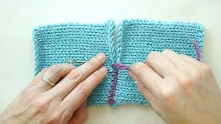 getlinkyoutube.com-The Mattress Stitch: Sewing for Knitters