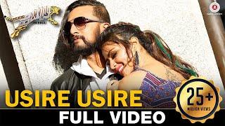 Usire Usire - Full Video   Hebbuli  Kiccha Sudeep, Amala Paul & Ravichandran  Shaan & Shreya Ghoshal