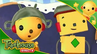 getlinkyoutube.com-Rolie Polie Olie - Let's Make History / Adventure Of Space Dads / Silly Willy Day - Ep. 35