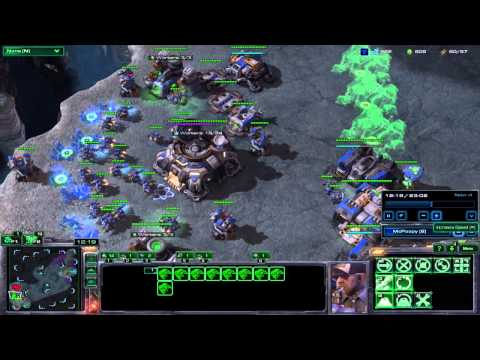 Starcraft 2 HoTS TP vs ZZ Plat/Gold