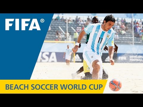 Argentina vs Senegal | FIFA Beach Soccer World Cup 2015