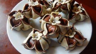 getlinkyoutube.com-حلويات سهلة : حلوة القرنفلة او الياسمينة مع طبخ ليلى  halawiyat