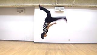 getlinkyoutube.com-【ACROBAT】アクロバット:フラッシュキック RISING Dance School ZEN Flash Kick