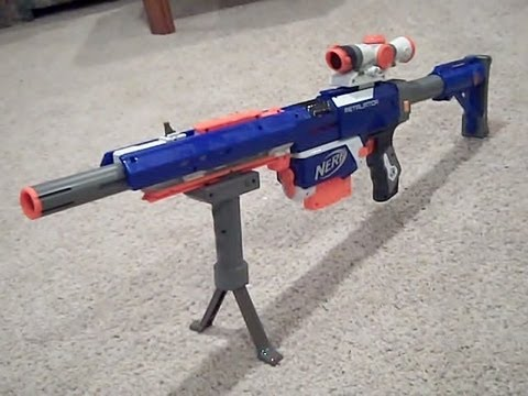 New Nerf N-strike Elite Custom Sniper Retaliator Rifle Gun w