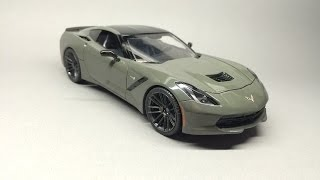 Revell: Corvette C7 Stingray Final Details& Assembly