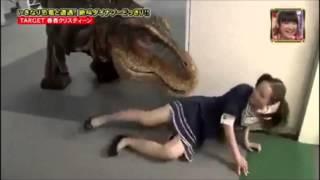 Dinosaur Prank Made in Japan T Rex Fail !!