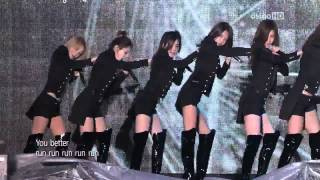 getlinkyoutube.com-[11.11.04] SNSD - Hoot - Run Devil Run @ 2011 Asia Song Festival [HD]