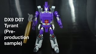 getlinkyoutube.com-Transformers Review: DX9 D07 Tyrant (Pre-production sample). P4L Reviews