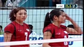 getlinkyoutube.com-Vietnam vs Thailand  Set 5 - 2013 Asian Women's Club Volleyball Championship