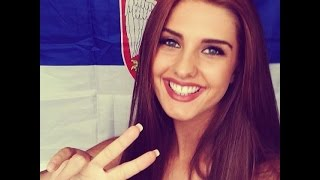 getlinkyoutube.com-Top 100 Most Beautiful Serbian Women !