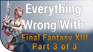 getlinkyoutube.com-Game Sins | Everything Wrong With Final Fantasy XIII - Part 3