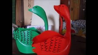 getlinkyoutube.com-cisne en bidón plástico     Luz Mireya Martinez