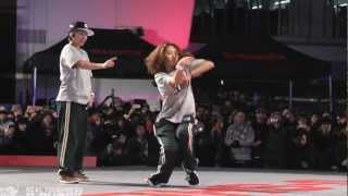 Les Twins vs Rush Ball G-SHOCK REAL TOUGHNESS Japan 2012 _ YAK FILMS