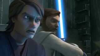 getlinkyoutube.com-Star Wars: The Clone Wars - Anakin Skywalker & Obi-Wan Kenobi vs. Count Dooku [1080p]