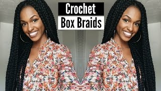 getlinkyoutube.com-Tutorial | Janet Collection Havana Mambo Crochet Box Braids in less than 2 hours!