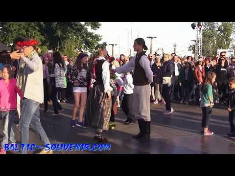 Танцы ЛИГО / LIGO Svētki / Jāņu svinēšana / Folk festival