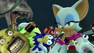 Sonic Zombie Doom Ship The Movie width=