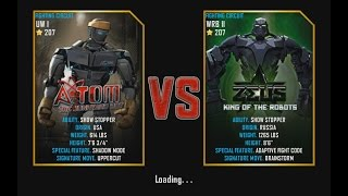 getlinkyoutube.com-Real Steel WRB Atom VS Zeus (champion) NEW updating