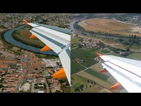 WHAT IS REAL?  Flight simulator vs Reality in a landing at Pisa(LIRP).
