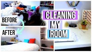 Cleaning My Room!   JensLife