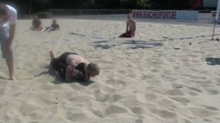 Binche Beach Grappling 2010 : Eric vs Katarine