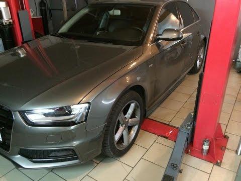 Как поменять колодки Audi A4