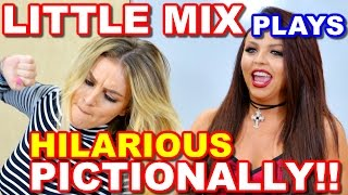 getlinkyoutube.com-LITTLE MIX Plays PICTIONARY and It's Absolutely HILARIOUS!!!