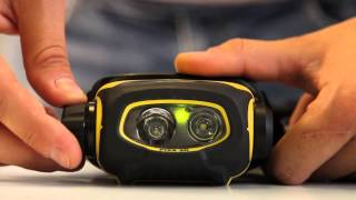 getlinkyoutube.com-PIXA 3R EN Petzl rechargeable and configurable headlamp HD