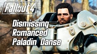 getlinkyoutube.com-Fallout 4 - Dismissing Romanced Paladin Danse